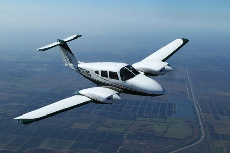 Piper Aircraft in Flight
